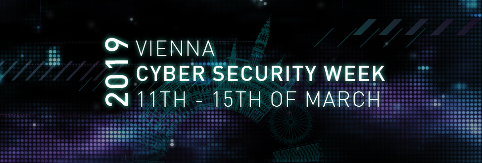 IoT4CPS to host Session at Vienna Cyber Security Week 2019